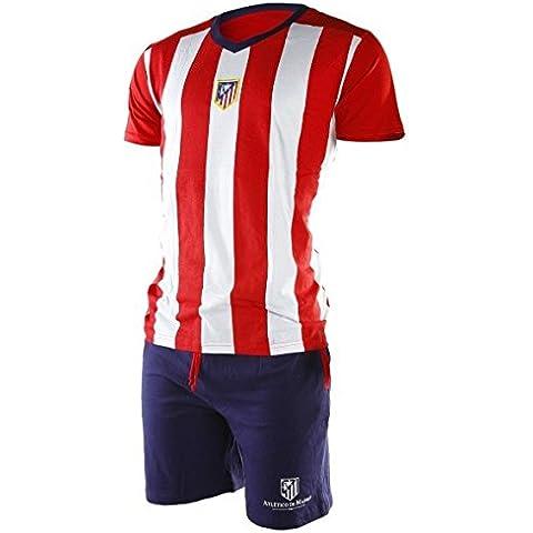 Pijama Atlético de Madrid adulto verano - S