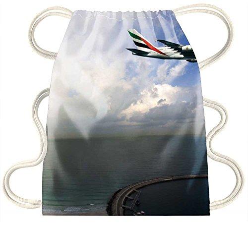 Preisvergleich Produktbild irocket–Dubai Sky–Kordelzug Rucksack Sack Tasche
