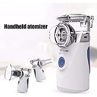 Preisvergleich für Inhalator Vernebler Elektrische Tragbar Ultraschall Mini Handheld Inhalator Luftbefeuchter Healthcare Kit Erwachsene...