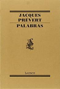 Palabras par Jacques Prévert