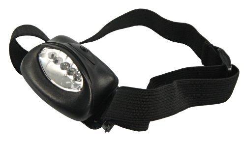 Preisvergleich Produktbild LED-Stirnlampe McShine ''HL-5 B'' mit 5 LEDs und Magnethalter