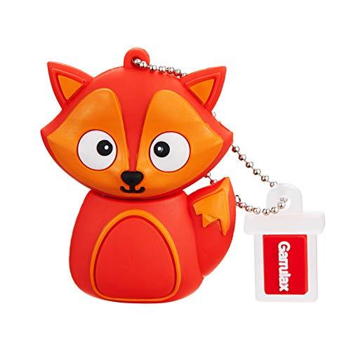 GARRULAX USB Stick, Premium USB 2.0, High Speed Cute Tier Niedliches Silikon 8GB / 16GB / 32GB USB-Flash-Laufwerk Wasserdicht Memory Stick Speicherstick