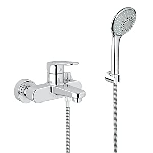 GROHE 33547002 Europlus Single-Lever Bath and Shower Mixer - chrome