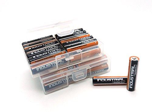 48 Batterien (2x24) Duracell Industrial AAA Micro LR03 Alkaline in Flachbox