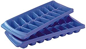 Princeware Ice Cube Tray, 2-Pieces,Blue