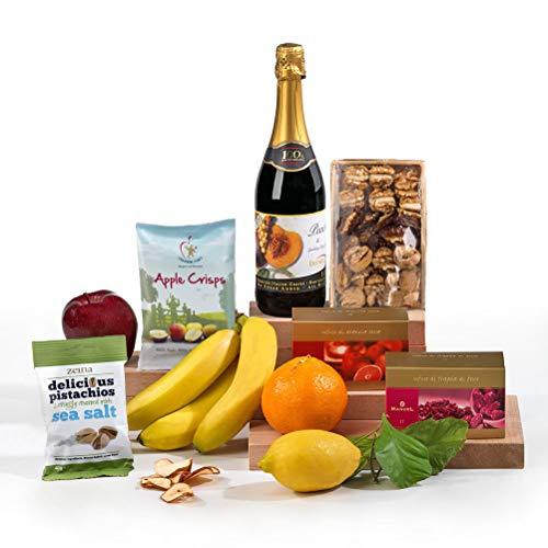 Hay Hampers Garden of Eden Healthy Fruit & Nut Hamper Box - Free UK Delivery