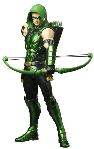 rsion Green Arrow ARTFX Statue (Black Arrow-kostüm)