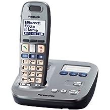 Panasonic KX-TG6571 - Teléfono VOIP, gris