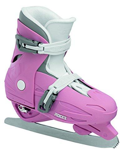 Roces Kinder Schlittschuhe MCK II F Größenverstellbar, Deep Pink-White, 25/29, 450519-004