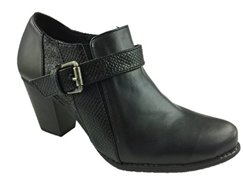 en Damen Chelsea Boots , schwarz - schwarz - Größe: 41 ()