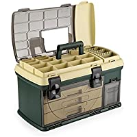 topind Kunststoff Multi–Etagen Angeln Tackle Aufbewahrungsbox Schublade Typ Subway Box Tragbarer Werkzeugkoffer