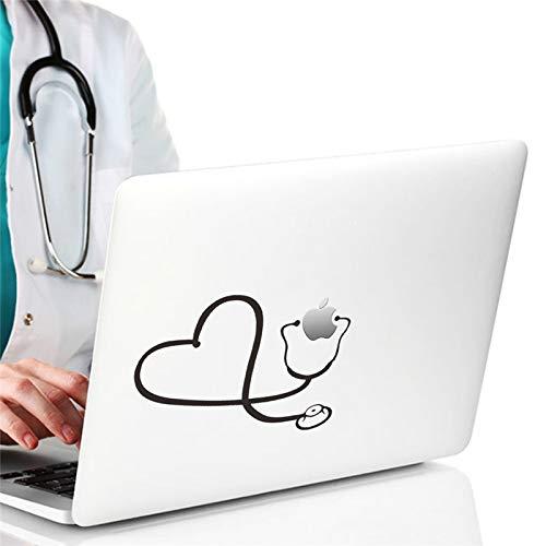Atiehua Funny Doctor Nurse Stethoscope Aufkleber Auto Laptop Notebook Kühlschrank Art Wall Vinyl Aufkleber Pegatinas Der Vergleich