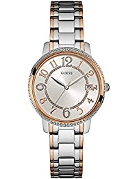 GUESS Analog Silver Dial Women's Watch - W0929L3