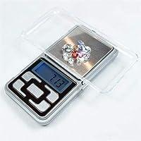 ميزان مجوهرات وذهب وادوية الكتروني رقمي بحجم صغير بقدرة حمل 500 غرام ودقة 0.1 غرام وبخاصية قياس صافي الوزن