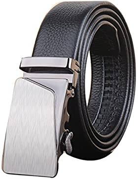 HOMEE Gürtel Männer automatische Schnalle Mode einfach
