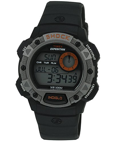 Timex Shock Digital Grey Dial Men's Watch - T49978