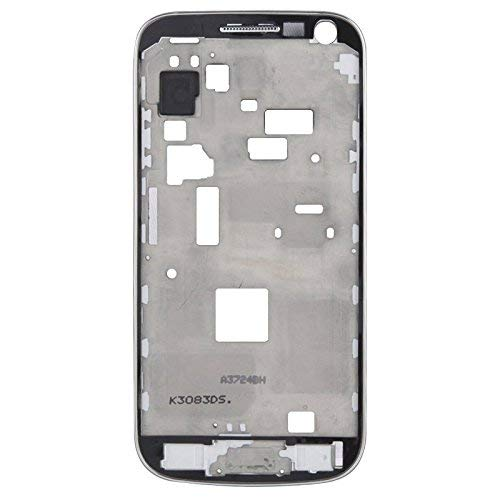 Scofeifei Ersatzteile, LCD-Middle-Board mit Knopf-Kabel, für Samsung Galaxy S4 Mini / i9195 (Farbe : Weiß) (Farbe : Weiß) (Samsung Board Galaxy S4 Usb)