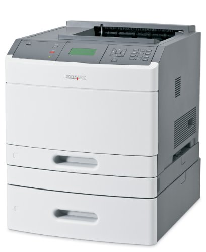 Cheapest Lexmark T650DTN Duplex Network Mono Laser Printer With Extra Drawer