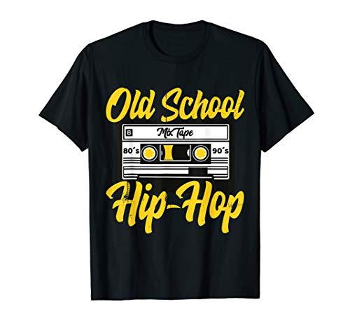 Cooles Retro Old School Hip Hop 80s 90s Mixtape Kassette  T-Shirt