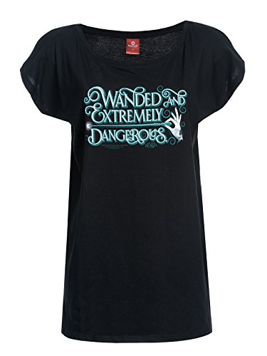 Fantastic Beasts and Where to Find Them Extremely Dangerous Maglia donna nero XL