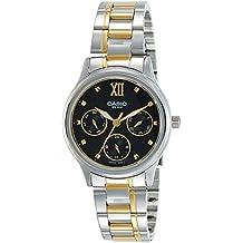 Casio Ltp-e306sg-1a Reloj Analogico para Mujer Colección Enticer Caja De Metal Esfera