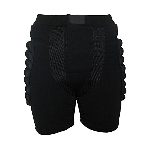 PQZATX Tamano L Negro Equipo Proteccion Pantalones