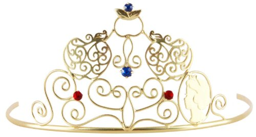Elope 212460 Snow White Kind Tiara - Gold - One-Size