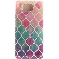 Voguecase® Per Samsung Galaxy Alpha SM-G850F, Custodia Silicone Morbido Flessibile TPU Custodia Case Cover Protettivo Skin Caso (anello colorato) Con Stilo Penna