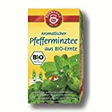 Teekanne Bio Pfefferminze, 20 Aufgussbeutel, 1er Pack