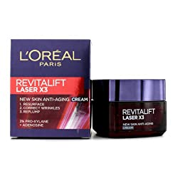 Loreal paris Revitalift Laser X3 New skin anti aging Day Cream 50ml
