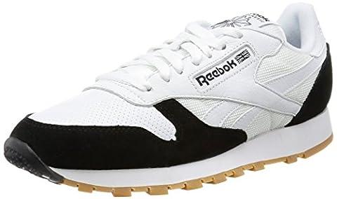 Reebok CL Leather SPP chaussures, Blanc, 42.5 EU