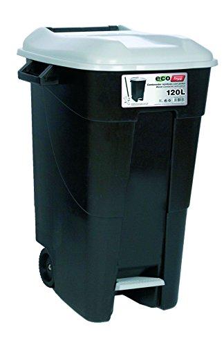 Tayg - Contenedor de residuos Eco Tayg 120 l. GR. C/pedal