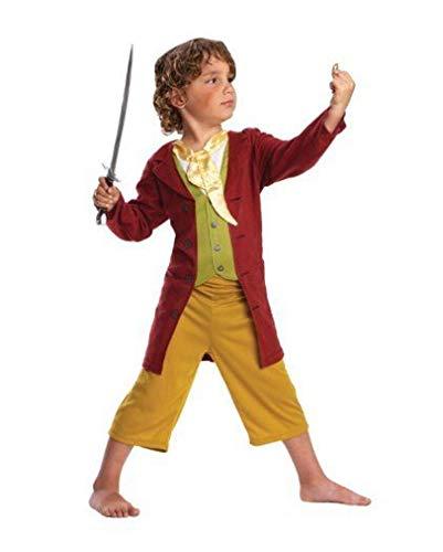 Horror-Shop Lizenziertes Hobbit Kostüm für Kinder