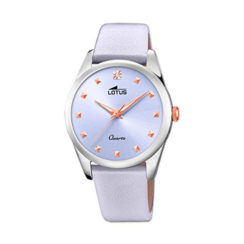 Lotus Trendy Watch Woman Light Purple 35 mm Leather Strap 18642/3