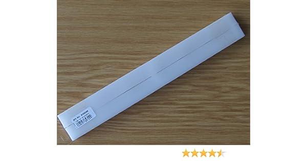 9100056 2 St/ück 16 x 19 x 268 mm Hettich F/ührungsschienen f/ür Schubk/ästen // Schubladen mit 17 mm Nut