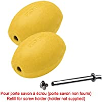 Rotary Provendi Yellow Soap - Refill For Screw Holder (Set Of 2) by Provendi