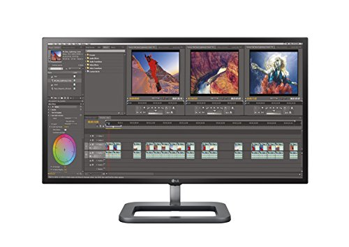 LG Electronics 31MU97Z-B.AEU 78,7 cm (31 Zoll) Monitor (4K Display, 2 x Thunderbolt, 2 x DisplayPort, 2 x HDMI, Mini DisplayPort, 5ms Reaktionszeit)