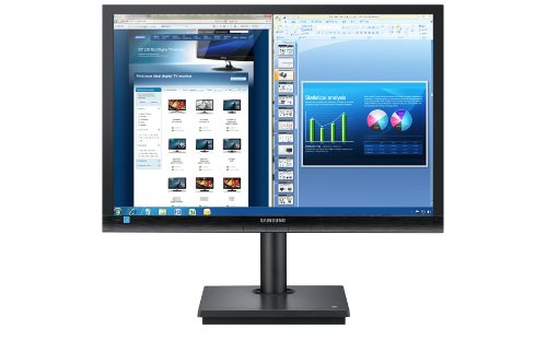 Samsung Monitor  CloudStation TS240W Thin Client 60,96cm 24Zoll TFT 1000:1 250cd/m2 5ms 1920x1200 8GB SSD AMD HD6290