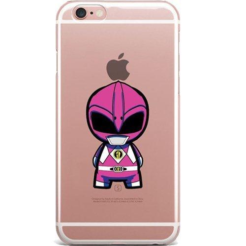 Blitz® POWER RANGER motifs housse de protection transparent TPE iPhone Captain America M8 iPhone 6sPLUS rose Power Rangers M5
