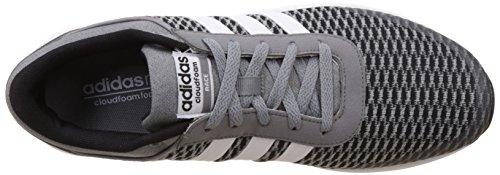 adidas Herren Cloudfoam Race Fitnessschuhe, Schwarz, 42 EU Black (Schwarz)