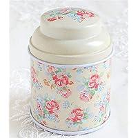 Whyyudan Almacenamiento de té útil Caja pequeña de Almacenamiento de té Caja de té de decoración
