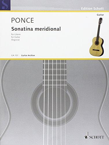 Sonatina Meridional (Segovia) - Guitare