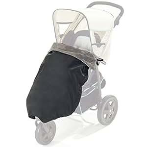 Diago 30055.90771 Couverture thermique pour poussette Noir/gris