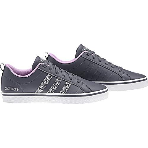 adidas VS Pace W - Zapatillas Deportivas para Mujer, Gris - (Onix/Plamat/ORQCLA) 36 2/3