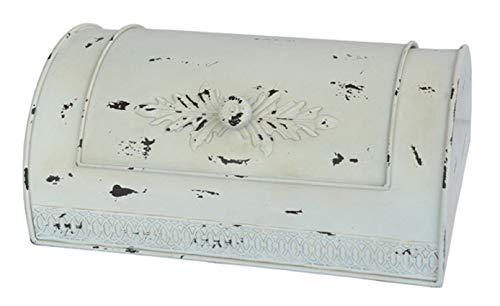 ETC dekorative Brot-Dose Brot-Kasten Aufbewahrungsdose Vintage Landhaus Optik Shabby