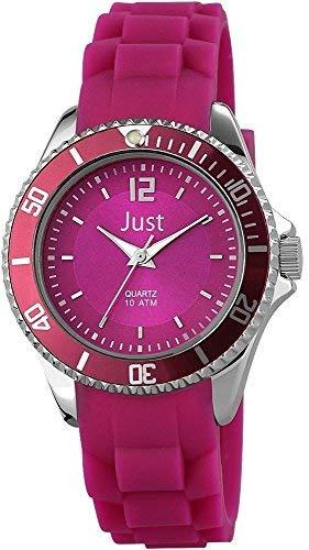 Just Watches 48-S3861-DPR - Orologio da polso da donna, cinturino in caucciù colore violetto