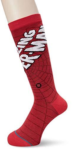 Stance Herren Socken X Marvel Amazing Spiderman Socks (Herren-socken Spiderman)