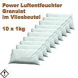 Luftentfeuchter Granulat 10 x 1 kg Luftentfeuchter Granulat im Vliesbeutel Keller-Trockner Anti Feuchtigkeit