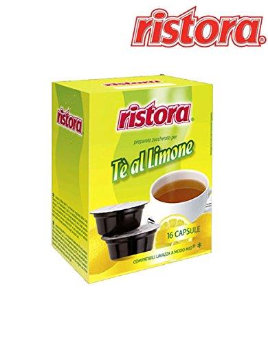 Ristora the limone capsule compatibili lavazza a modo mio (astuccio da 16 capsule)