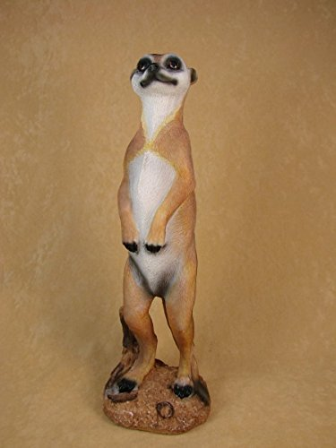 Erdmännchen Figur Deko Gartenfigur